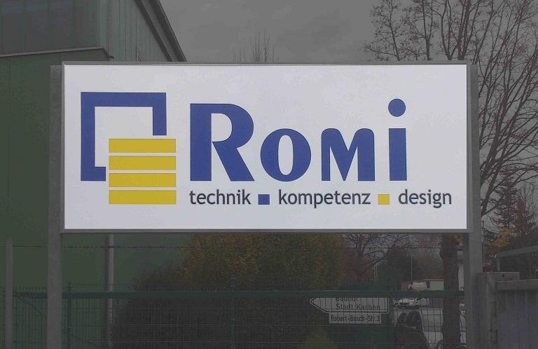 Leuchtkasten für Romi